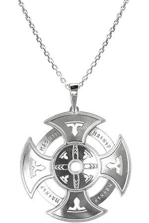 Praqia Pánský stříbrný náhrdelník Oxull KO5004_MO060_50_RH (řetízek, přívěsek)