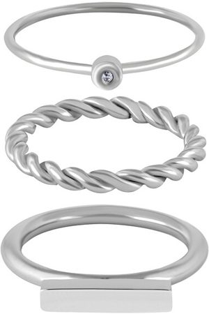 Troli Moderní sada ocelových prstenů 50 mm