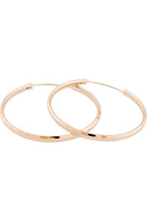 JVD Růžově pozlacené stříbrné náušnice kruhy SVLE0209XD5RO 2 cm