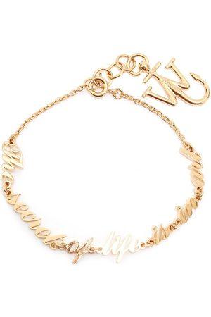 adidas Slogan cable-link bracelet