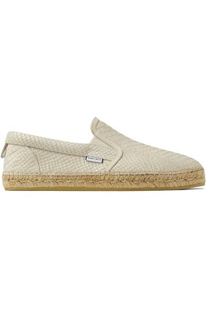 Jimmy Choo Vlad textured leather loafers