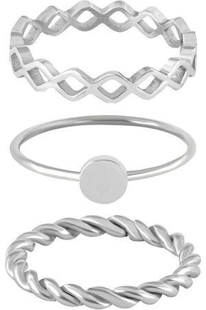 Troli Sada tří ocelových prstenů 58 mm