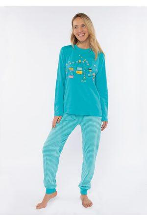 Muydemi Ženy Tepláky na spaní - Dámké pyžamo 210004 M