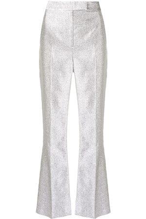 3.1 Phillip Lim Metallic tailored trousers
