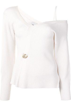 3.1 Phillip Lim Off-shoulder knitted top