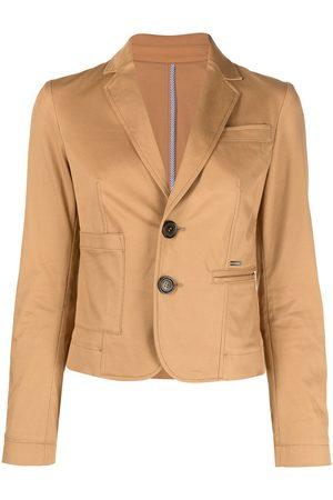 Dsquared2 Asymmetric cropped blazer