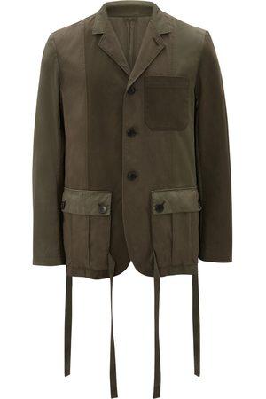 J.W.Anderson Tie-pockets panelled jacket