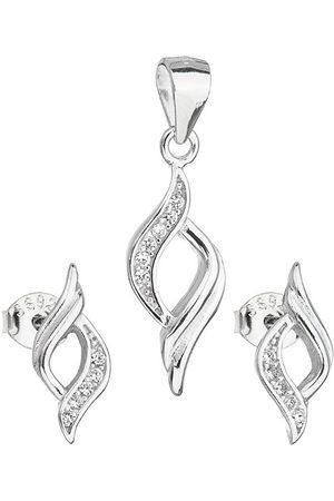 Evolution Sada šperků náušnice a přívěsek 19013.1