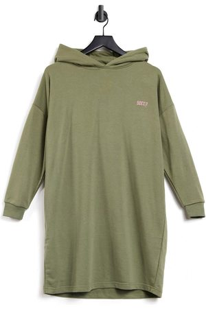 Night Addict Co-ord oversized tracksuit hoodie-Green