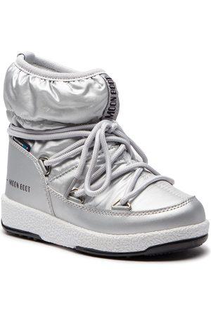 Moon Boot Dívky Sněhule - Sněhule - Jr Girl Low 34051800002 Silver Met.