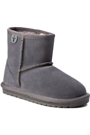 Emu Boty - Wallaby Mini K10103 Charcoal/Anthracite