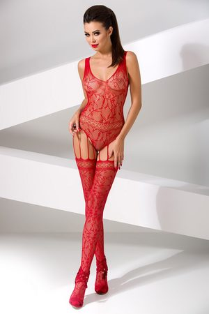 Passion Fusion Ženy Body - Bodystocking Lucille