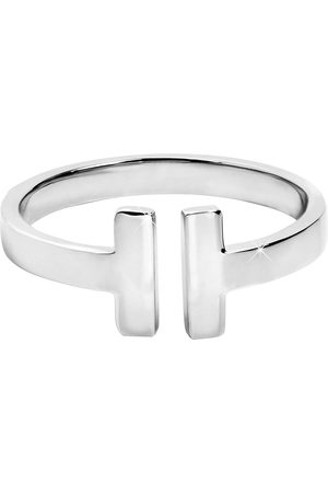 Troli Otevřený ocelový prsten pro ženy 52 mm