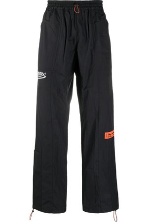 Heron Preston Logo patch track trousers