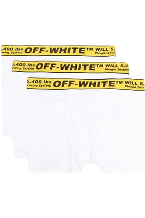 OFF-WHITE TRIPACK CLASSIC INDUSTR BOXER WHITE YELL
