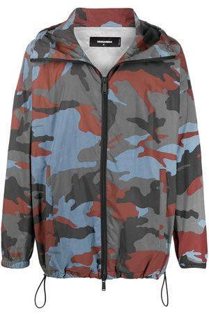 Dsquared2 Camouflage-print windbreaker jacket