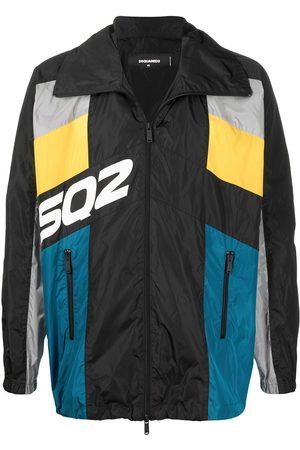 Dsquared2 Colour-block windbreaker jacket