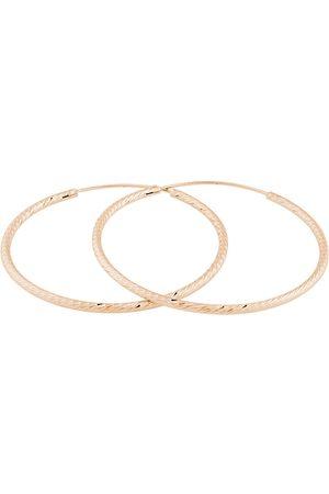 JVD Růžově zlacené náušnice kruhy SVLE0215XD5RO 1,6 cm