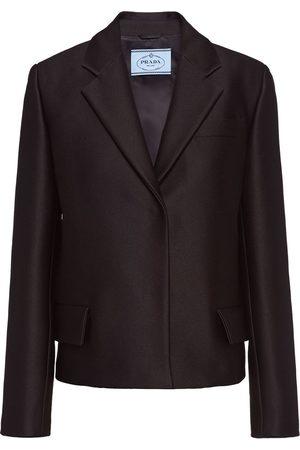 Prada Single-breasted radzimir jacket