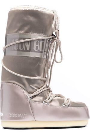 Moon Boot Ženy Sněhule - Icon satin snow boots
