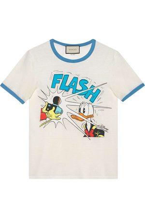 Gucci X Disney Donald Duck-print T-shirt