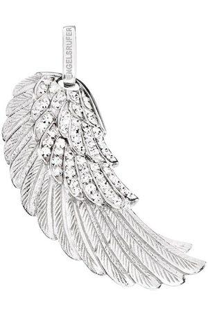 Engelsrufer Stříbrný přívěsek Andělské křídlo se zirkony ERW-01-ZI 2,8 cm