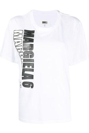 MM6 MAISON MARGIELA Logo-print short-sleeve T-shirt