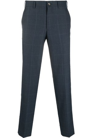 Comme des Garçons Checked tailored trousers