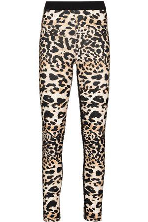 Paco rabanne Leopard print performance leggings