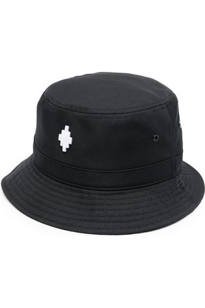 MARCELO BURLON CROSS BUCKET BLACK WHITE