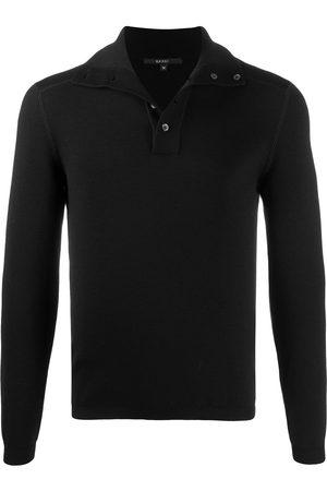 Gucci Fine-knit polo shirt