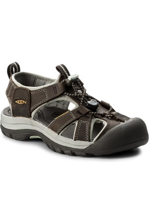Keen Sandály - Venice 1003989 Black Olive/Surf Spray