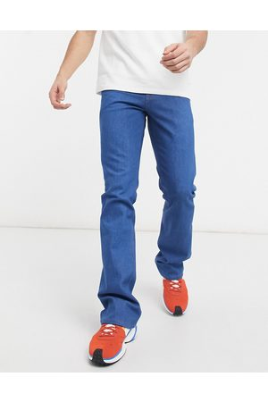 ASOS Low rise skinny flare in raw blue 70's wash