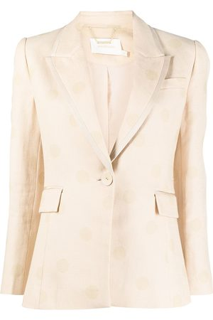 ZIMMERMANN Single-breasted fitted blazer