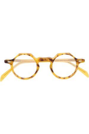 LESCA Yoga round frame glasses