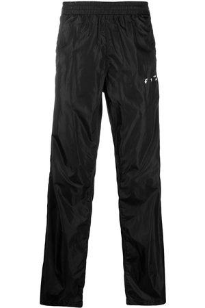 OFF-WHITE Zip-detail logo track pants