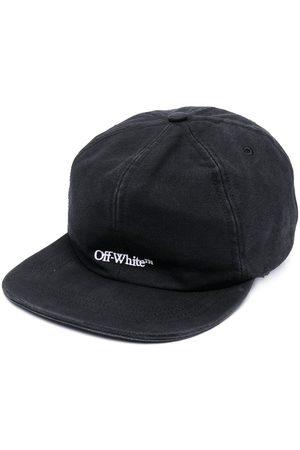 OFF-WHITE BOOKISH OW BASEBALL CAP BLACK WHITE
