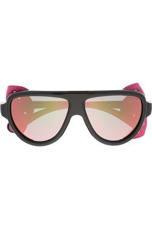 Moncler Detachable eye shield sunglasses
