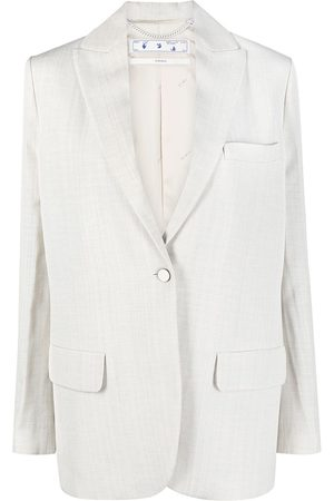OFF-WHITE Single-breasted tailored blazer