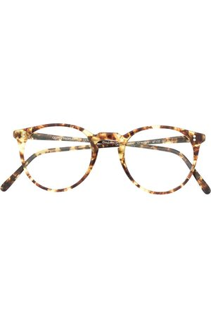 Oliver Peoples O'Malley tortoiseshell-effect glasses