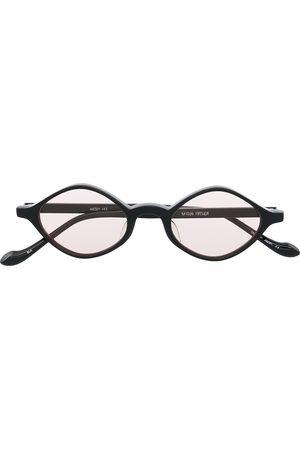 MATSUDA M1026 diamond-frame sunglasses