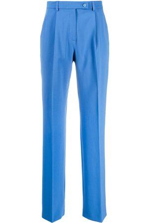 Alberta Ferretti Straight-leg tailored trousers