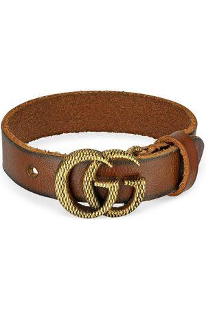 Gucci Engraved Double G bracelet