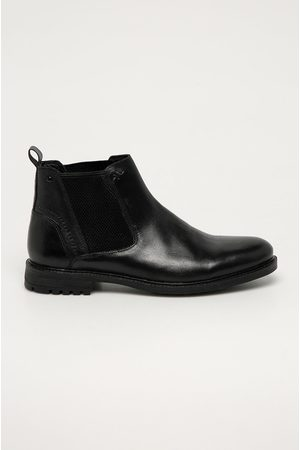 MEDICINE Kožené kotníkové boty Comfort Up