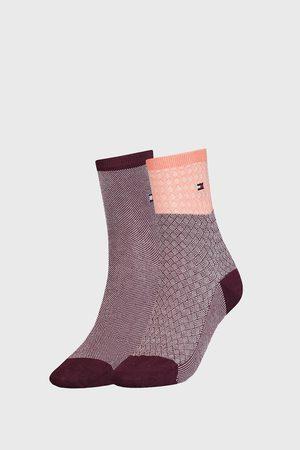Tommy Hilfiger 2 PACK dámských ponožek Argyle II