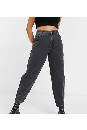 Reclaimed Vintage Inspired the 84' balloon leg jean in washed black
