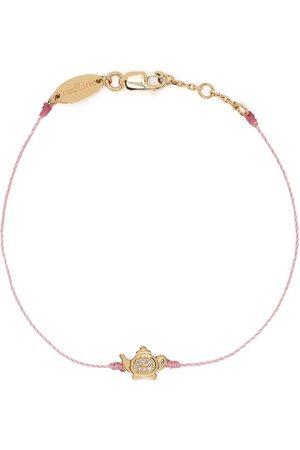 Redline Ženy Náramky - 18kt yellow gold diamond teapot bracelet