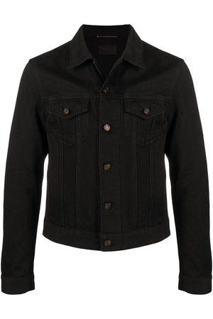 Saint Laurent Muži Džínové bundy - Denim shirt jacket