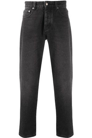 Ami Muži Slim - Cropped slim-fit jeans