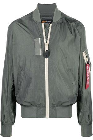 Alpha Industries MA-1 rib-trimmed bomber jacket
